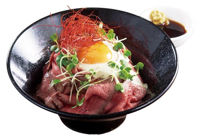 松木のローストビーフ丼