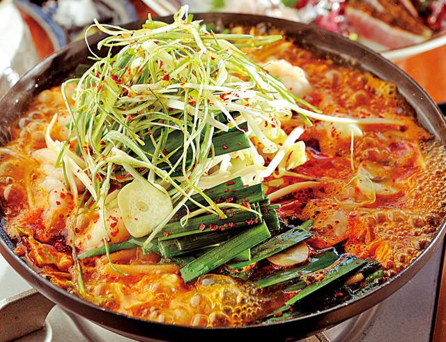 Yuu 赤いモツ鍋