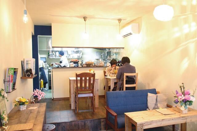 CAFE SALLE A MANGER 店内
