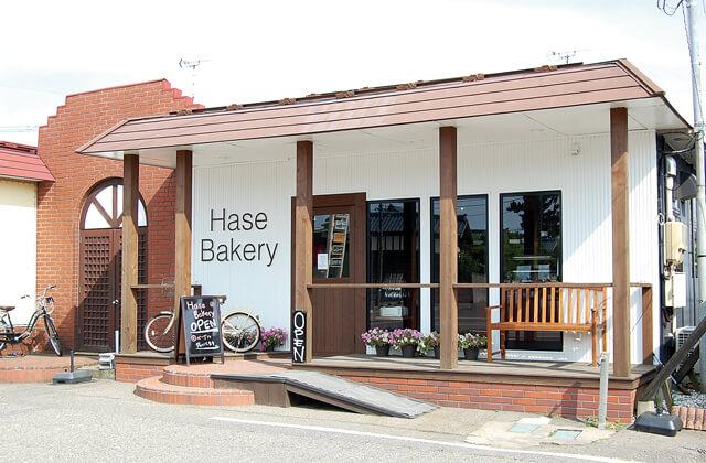 Hase Bakery(新潟市東区)の外観