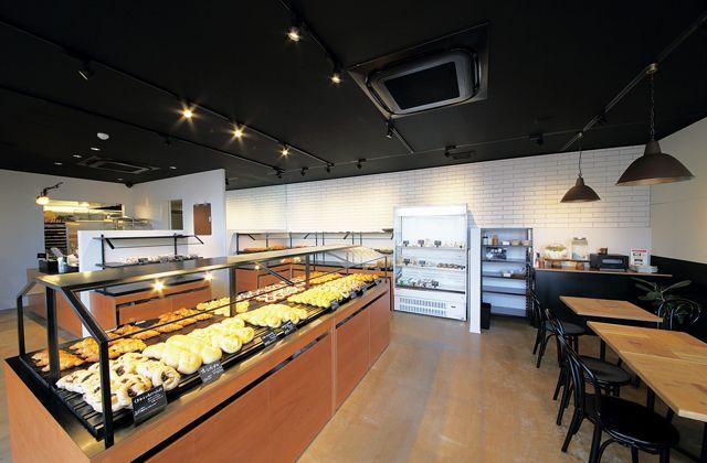 CISCO THE BAKERY(新潟市中央区)の店内