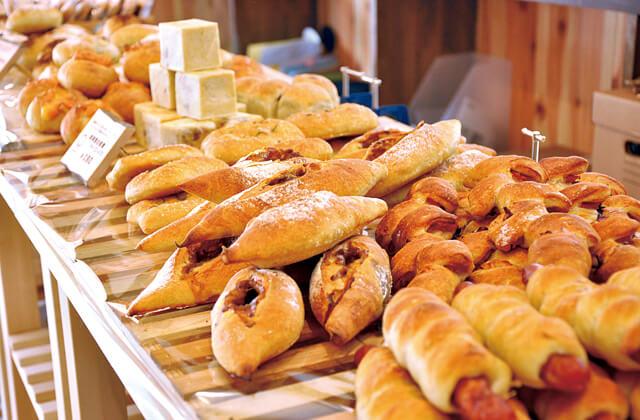 combirie(阿賀町)のパン