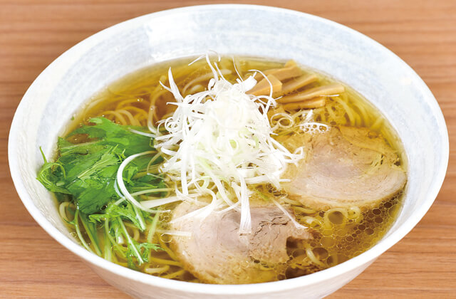 らぁ麺 てっぺんの鶏らぁ麺(しょうゆ)