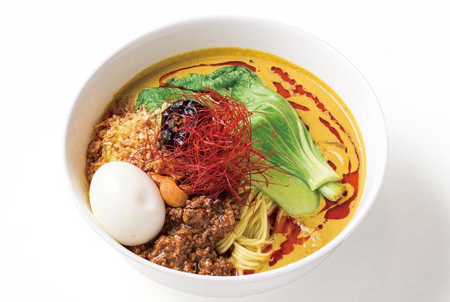 龍馬軒-限定咖喱担担麺