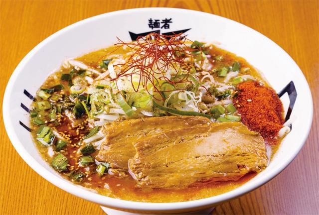 麺者風天小針店シビカラ味噌ラーメン