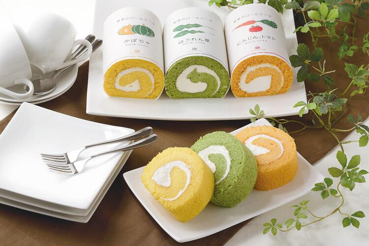野菜のロールケーキ
