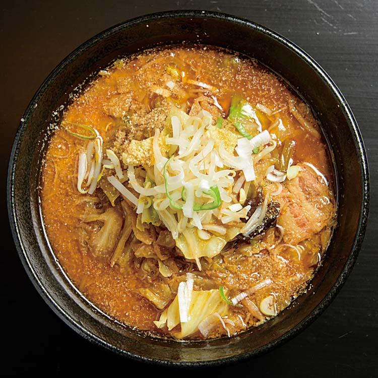 麺辛屋三國-三國ごま豚汁ラーメン750