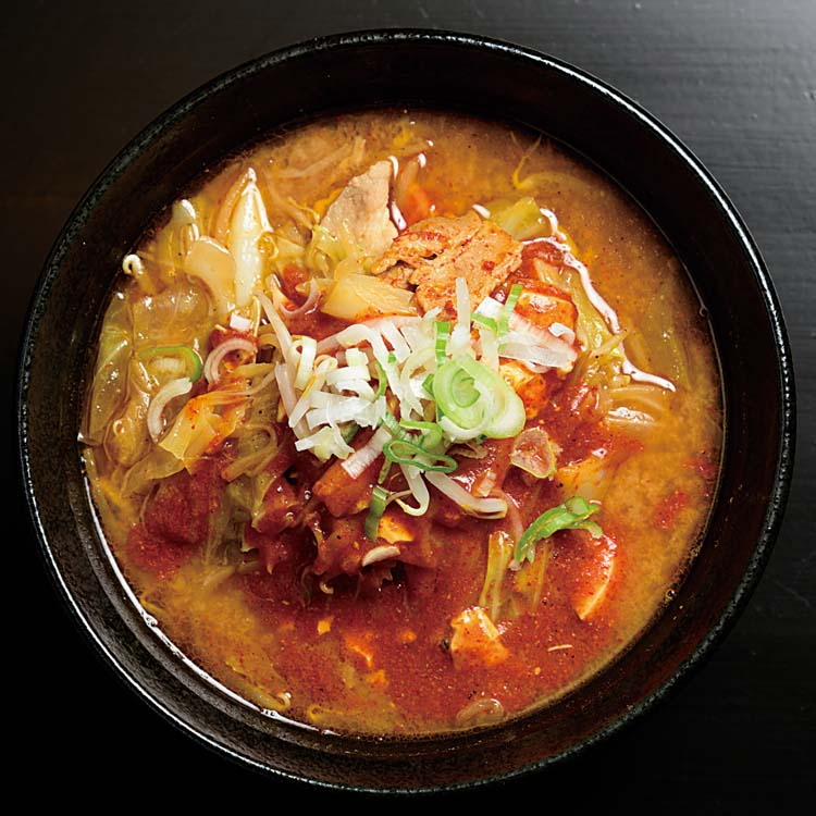 麺辛屋三國-三國豚汁ラーメン750