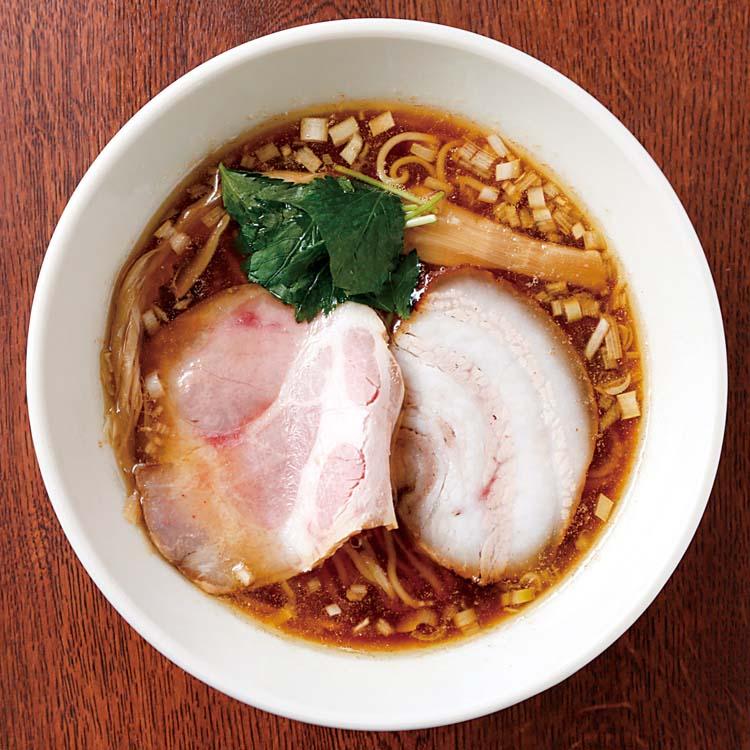 麺食房 わたなべ-鶏煮干し醤油らーめん750