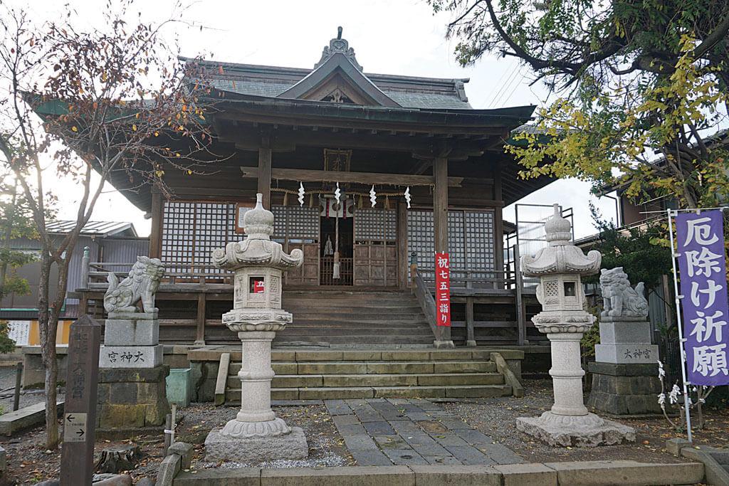 直江津大神宮-本殿