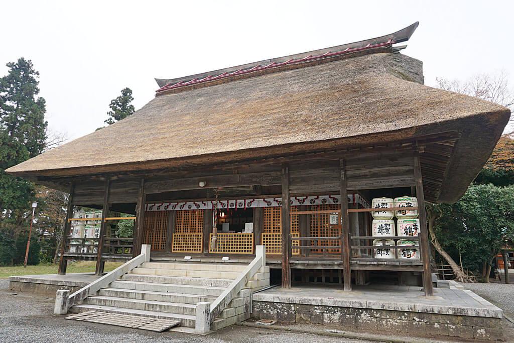 天津神社・奴奈川神社-本殿