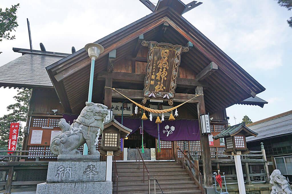 日枝神社-本殿