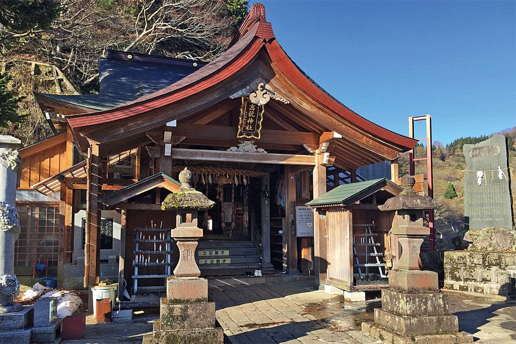 高龍神社-本殿