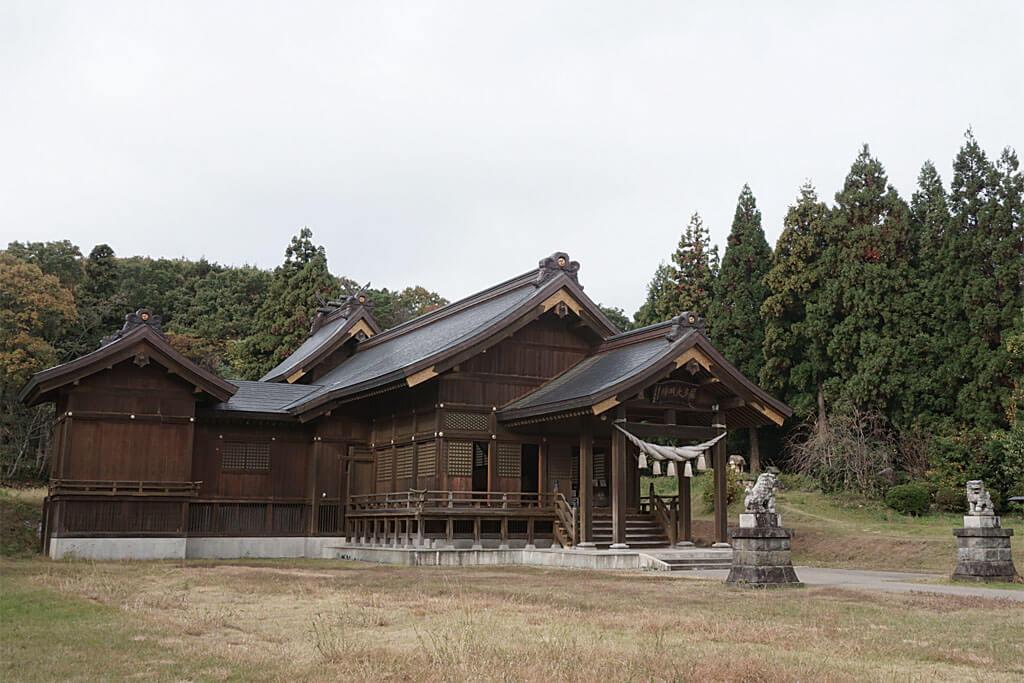 居多神社-本殿