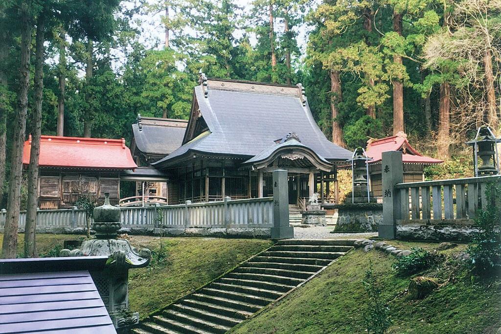 風巻神社-本殿