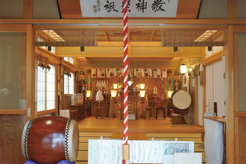 石動神社-本殿