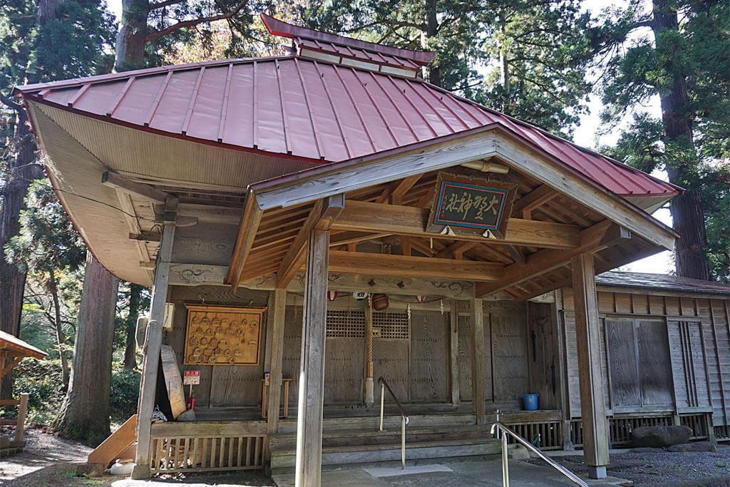 大野神社-本殿