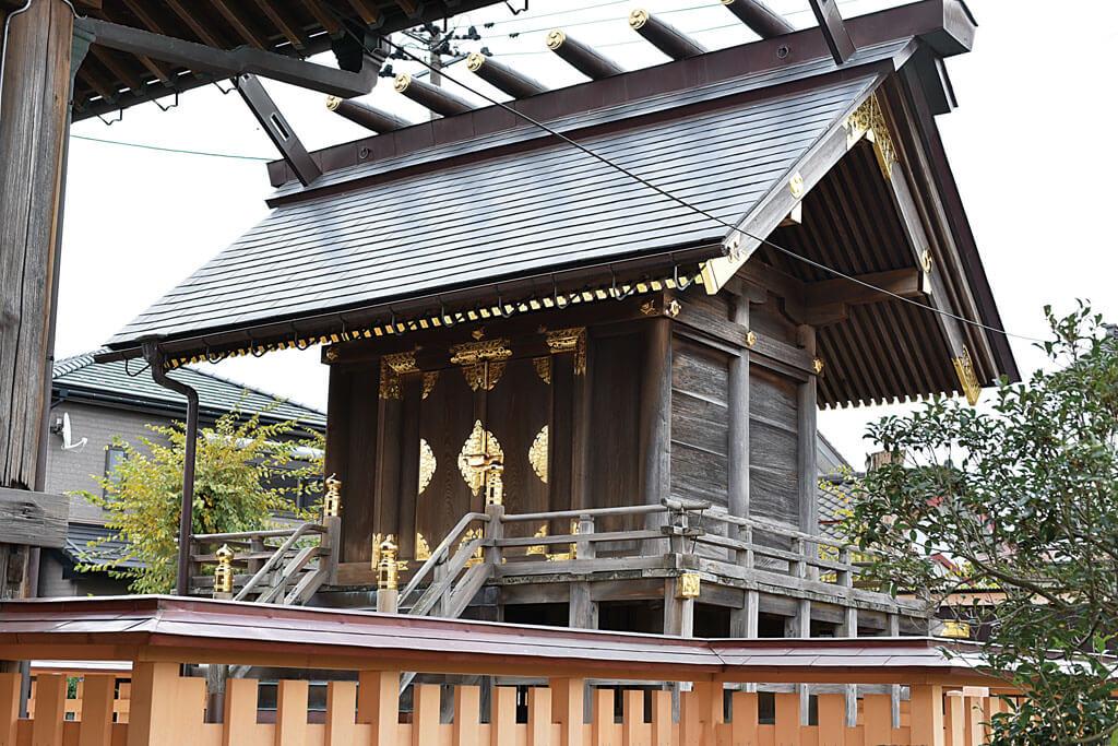 戸隠神社-本殿