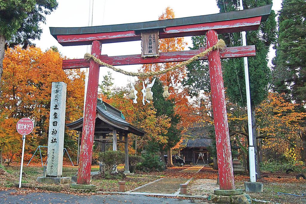 土生田神社-本殿