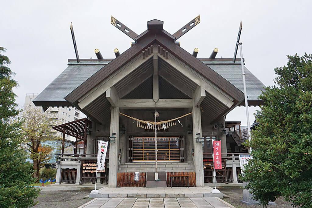 平潟神社-本殿