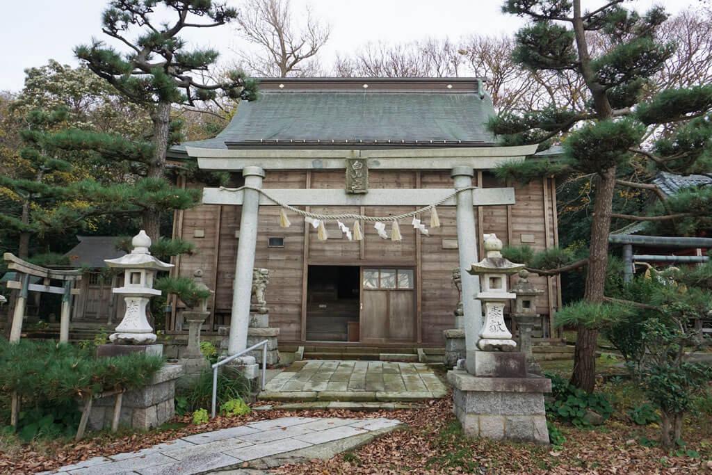 白山媛神社-本殿