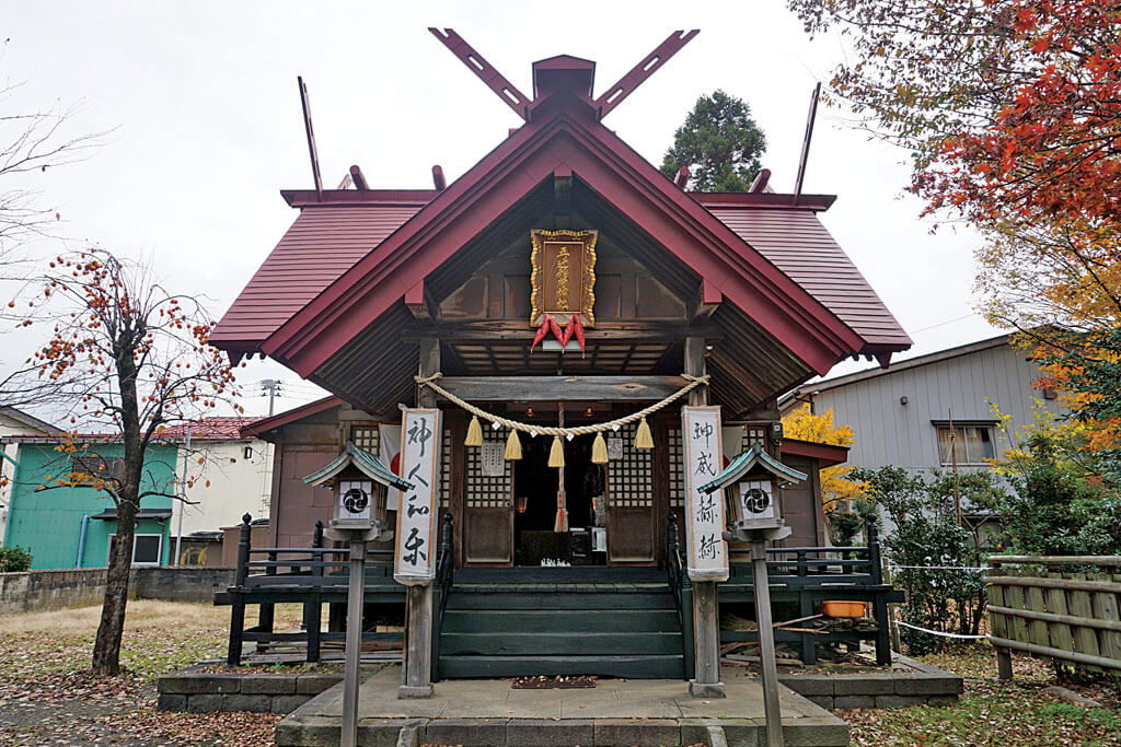 五の辻稲荷神社-本殿