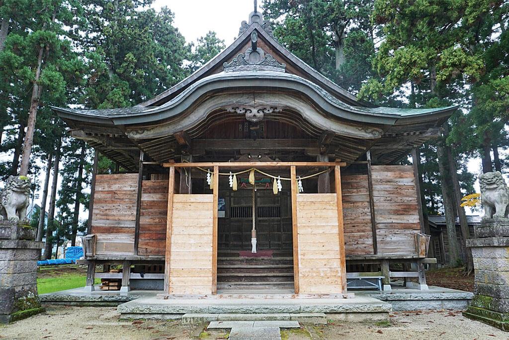 魚沼神社-本殿
