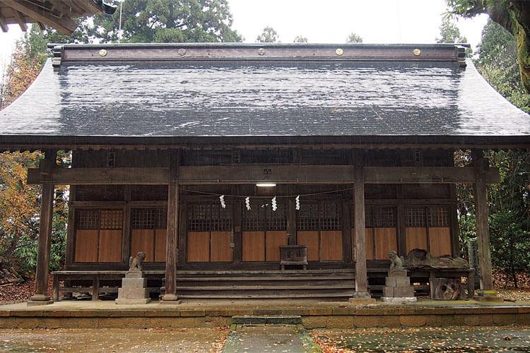 五十嵐神社-本殿