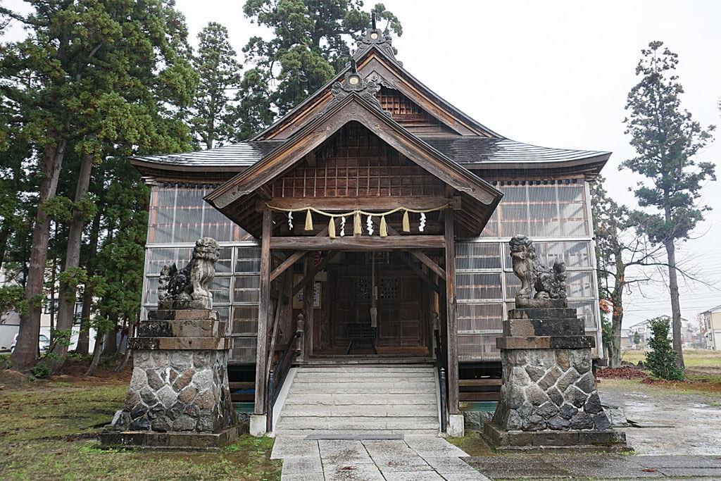 伊米神社-本殿