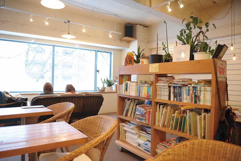 Books & Music Blue Cafe