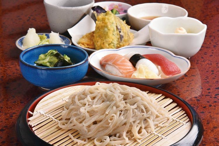 蕎麦と寿司の おおしま