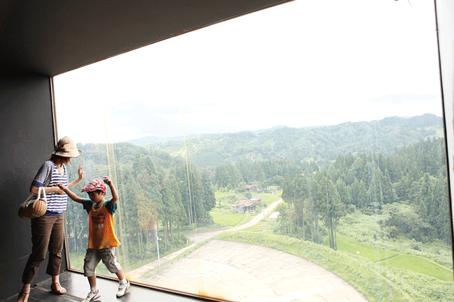 越後松之山「森の学校」 キョロロ
