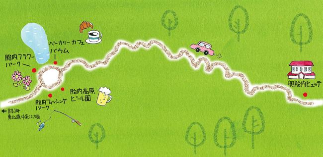 胎内コース地図