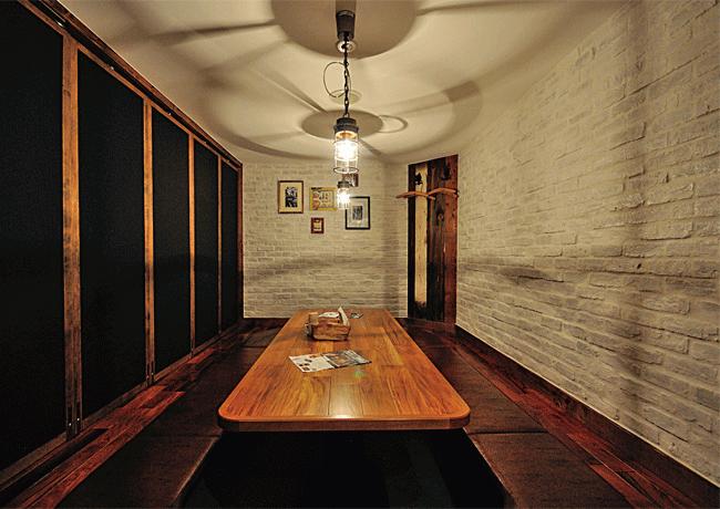 FARM TABLE SUZU(ファームテーブルスズ)の掘りごたつ仕様の個室