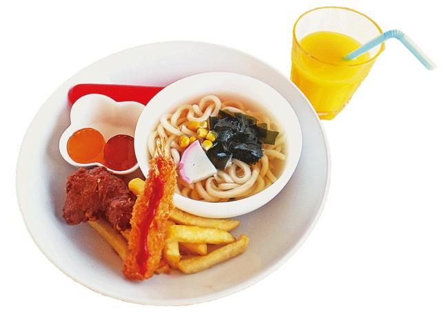 ALL STAR CAST(オールスターキャスト)のうどんプレート500円