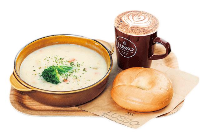 Cafe LUSSO(カフェルッソ)のレギュラープレート(787円)