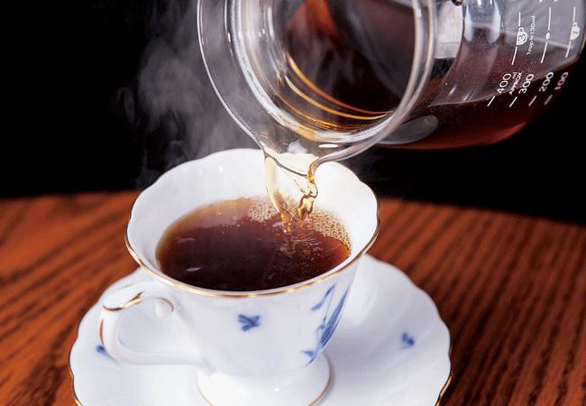 窯右衛門(カマエモン)の幻のコーヒー「コピ・ルアック」(1杯3,240円)