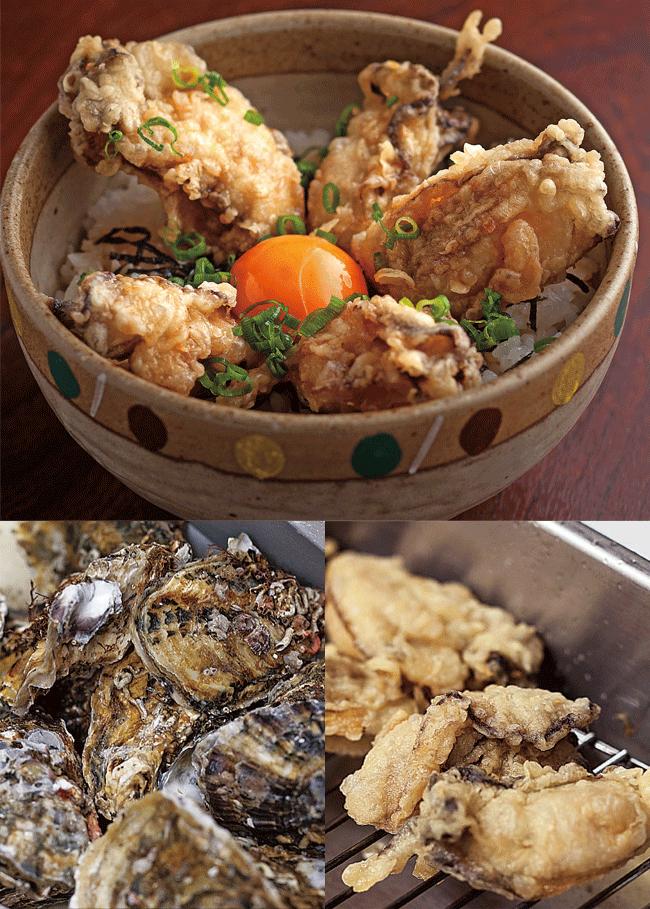 新潟海鮮問屋 港食堂のカキ丼