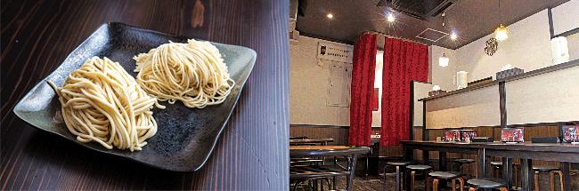 宝来軒 総本店の店内写真と麺