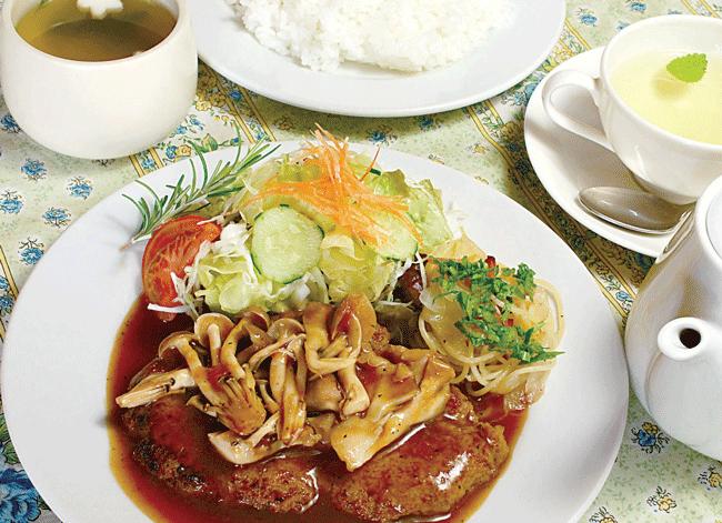 Restaurant PICの日替わりランチ 750円