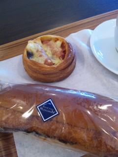 ハックルベリーのパン