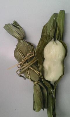 弥彦のイチオシ土産、白い笹だんご