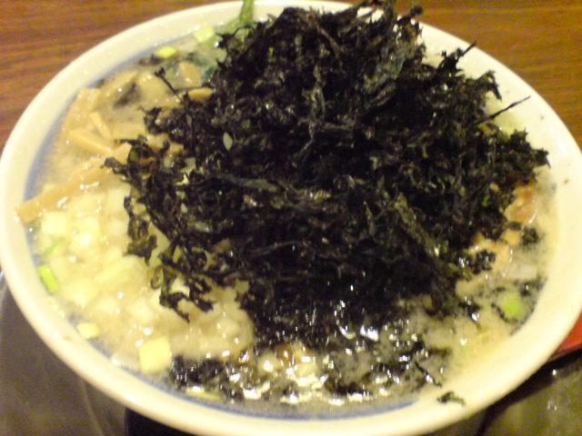 侍元の岩のりちゃっちゃ麺、うまい!!