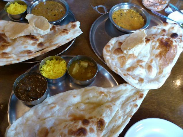 インド料理のナタラジャでランチ