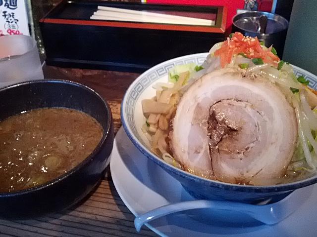 あたたまる。孔明の味噌つけ麺!