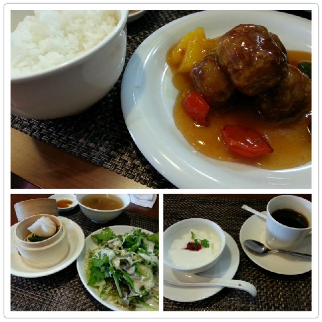 Chinese Table 花壇のチョイスランチ 花壇の酢豚編♪