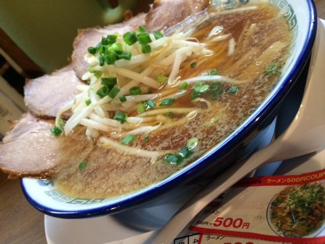 500円ら〜めん家和玄の醤油ラーメン