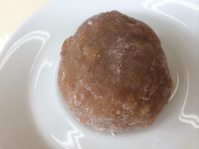 くるみ大福は柚べしの味わい