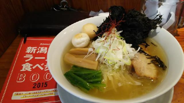安定感抜群!来味で「丸鶏塩らぁ麺」旨い!!