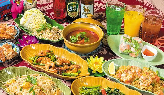 人気タイ料理店「スパイシーマーケット」が女池店をオープン